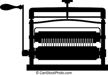 Pasta maker, shade picture