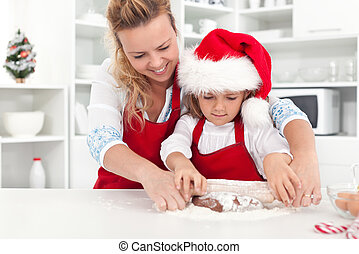 The way we make christmas cookies with mom