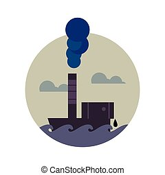Smoke stack Clip Art and Stock Illustrations. 534 Smoke stack EPS ...