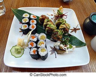 Veggie Sushi Spread