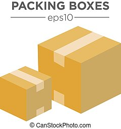 Packing box Illustrations and Clipart. 33,414 Packing box royalty ...