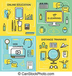 E-learning,Online Ecucation, Web Courses and Distance...