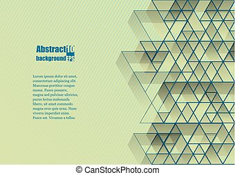Abstract background with geometric pattern. Eps10 Vector...