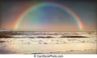 1200 Rainbow Ocean Cruise LOOP - Themes: promise, hope,...