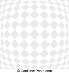Vector dotted monochrome pattern. Modern geometric texture...