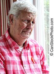 Senior depression - Senior gentleman age 78 with serious...