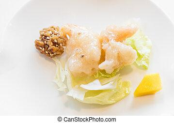 shrimp mayonnaise salad - Deep fried shrimp mayonnaise salad