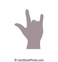 vector of hand icon