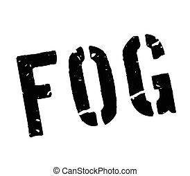 Fog rubber stamp