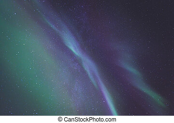 Beautiful picture of massive multicoloured green vibrant...