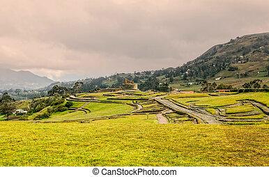 Temple Of The Sun In Ingapirca