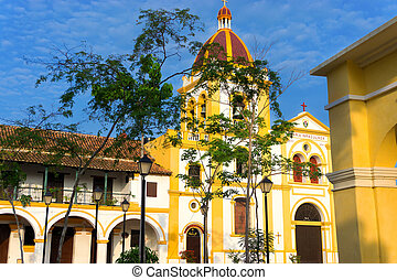 Church and Colonial Architecture - Church of the Immaculate...