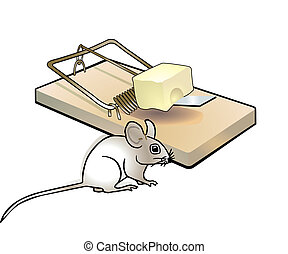 mousetrap and mouse