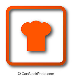 Chef icon Internet button on white background