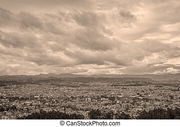 Cuenca City, The Capital Of The Azuay Province, South...