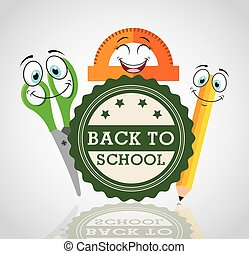 back to school with character supplies