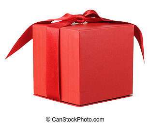 Giftbox on White Background
