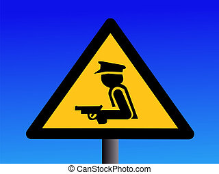 armed security guard sign - warning armed security guard...