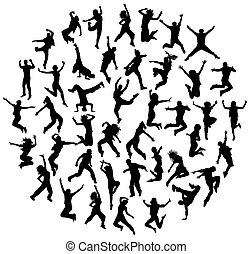 Hip Hop Dance Vector