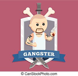 bald gangster in emblem