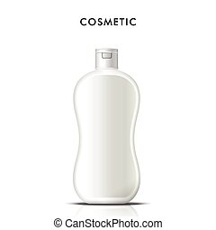 Cosmetic blank container for cream