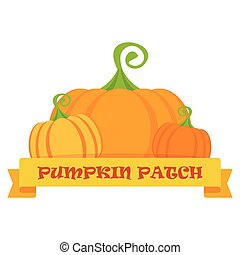 vector pumpkin patch