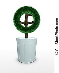 3d image, Bonsai Conceptual, Circle