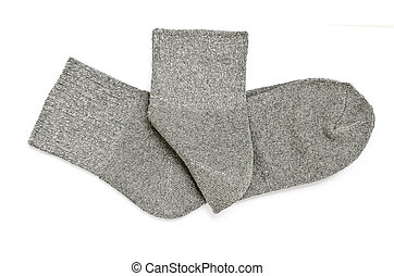 Pair of gray socks