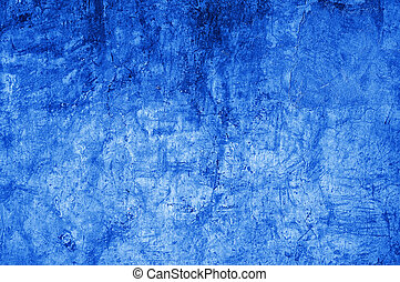 Rough blue grunge texture as background for graphic design