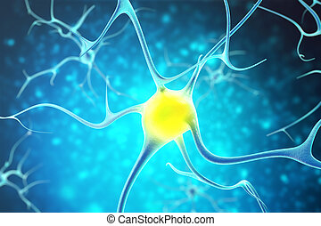 Neurons in the human nervous system with the effect of depth...
