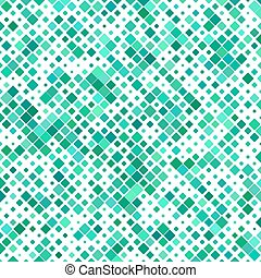 Teal color abstract square pattern background design