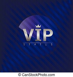 Vip members only label Glass badge with silver text, Luxury...