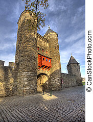 Historic City Gate Maastricht - Historical city gate...