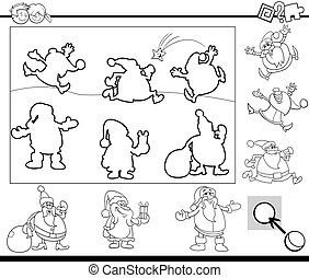 activity task coloring page - Black and White Cartoon...