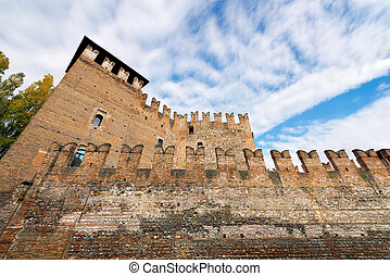 Old Castle Castelvecchio - Verona Italy - The medieval...