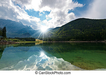 Lago di Fusine - Friuli Italy - Lago di Fusine (Fusine...