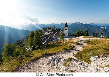 Monte Santo di Lussari - Tarvisio Italy - Village of Monte...