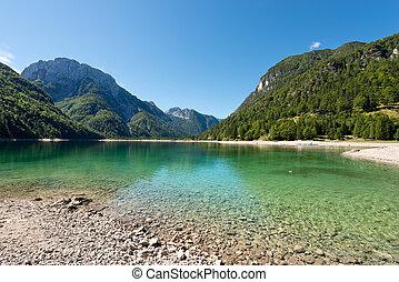 Lago del Predil - Friuli Italy - Lago del Predil Predil Lake...