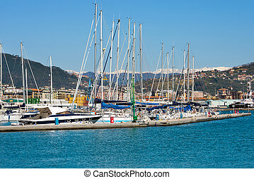Harbor of La Spezia - Liguria Italy