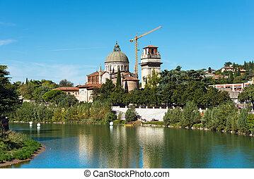 Church of San Giorgio in Braida - Verona Italy - The church...