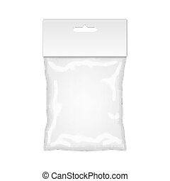 Plastic Bag Mockup Ready For Your Design Blank Packaging...