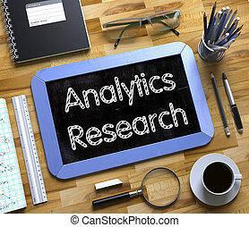 Analytics Research on Small Chalkboard 3D - Analytics...