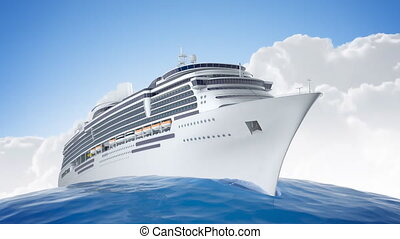 Crusing the world - A 1080p HD video of a luxery cruiseship...