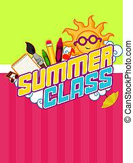 Summer Class Design - Summer Class Flyer Design