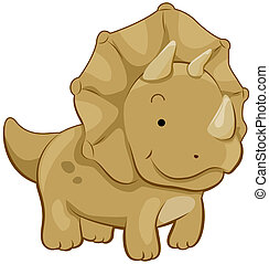 lindo,  Triceratops