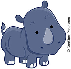 Cute Rhinocerus