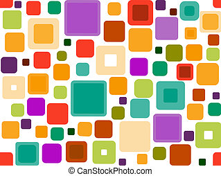 Seamless Funky Squares