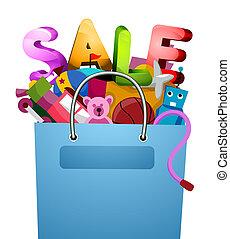 Verkauf, Spielzeuge