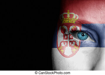 Supporter of Serbia