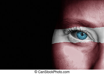 Supporter of Latvia